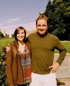 Derek Tarr and his daughter (2013)