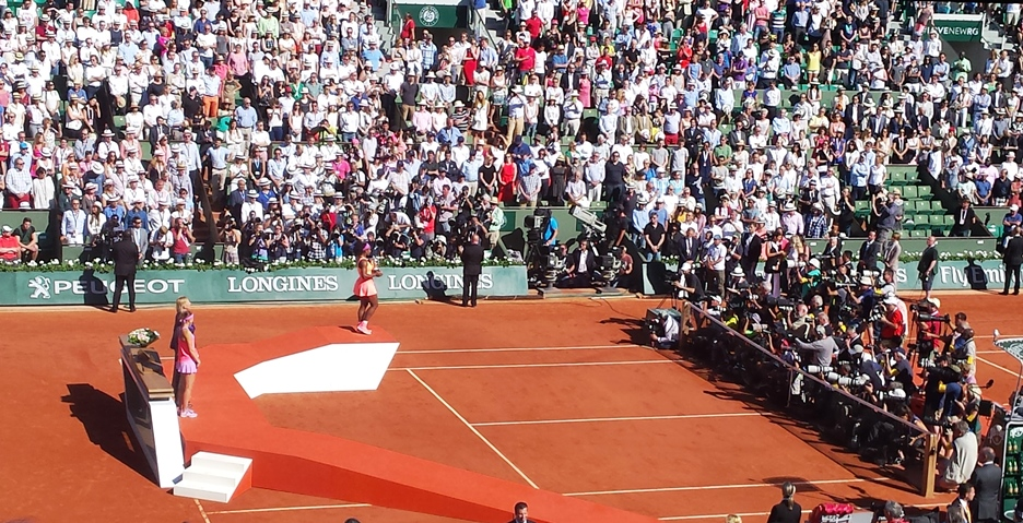 Serena Williams, the 2015 Roland Garros Champion