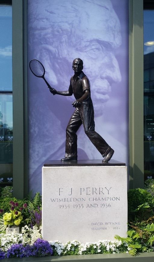 Fred Perry Statue